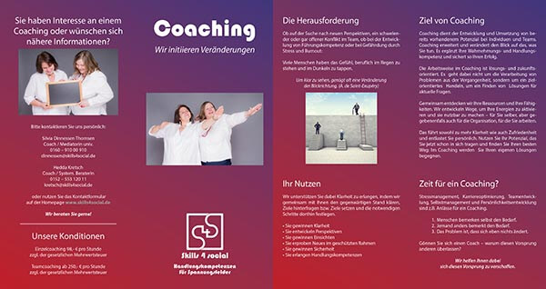 skills4social flyer coaching